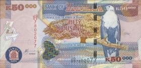 Sambia / Zambia P.48f  50000 Kwacha 2010 (1)