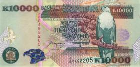 Sambia / Zambia P.42b 10.000 Kwacha 2001 (1)