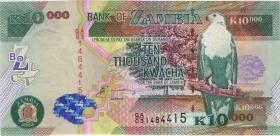 Sambia / Zambia P.46a 10.000 Kwacha 2003 (1)