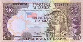 Samoa P.34a 10 Tala (2006) (1)