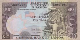 Samoa P.34b 10 Tala (2006) (1)