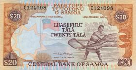 Samoa P.35a 20 Tala (2002) (1)