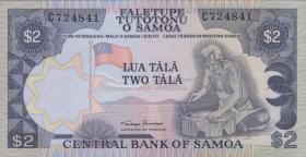 Samoa P.25 2 Tala (1985) (1)