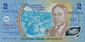 "Samoa P.31d 2 Tala (1990) ""Jubiläum"" Polymer (1)"