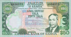 Samoa P.29 50 Tala (1985) (1)