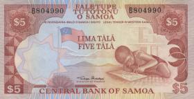 Samoa P.26 5 Tala (1985) (1)