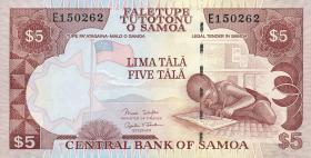 Samoa P.33b 5 Tala (2006) (1)