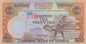 Samoa P.28 20 Tala (1985) (1)
