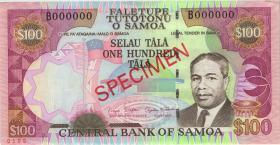 Samoa P.37s 100 Tala (2006) Specimen (1-)