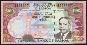 Samoa P.37 100 Tala (2006) (1)