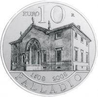 San Marino 10 Euro 2008 Palladio PP