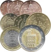 San Marino Euro-Kursmünzensatz