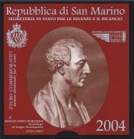 San Marino 2 Euro 2004 Borghesi