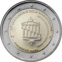 San Marino 2 Euro 2015 25 Jahre Wiedervereinigung