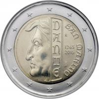 San Marino 2 Euro 2015 Dante