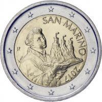 San Marino 2 Euro 2017 Kursmünze (neues Motiv)