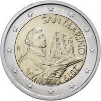 San Marino 2 Euro 2019 Kursmünze