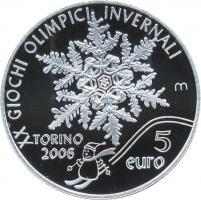 San Marino 5 +10  Euro 2005 Oly. Turin + Uniform