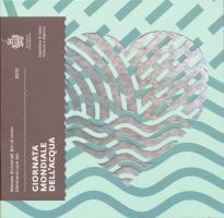 """San Marino Euro-KMS 2017 (neue Motive) mit 5 Euro """"Weltwassertag"""""""