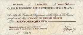 San Marino P.S101 150 Lire 1976 (1)