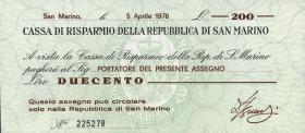 San Marino P.S102 200 Lire 1976 (1)