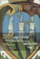 San Marino 2 Euro 2009 Kreativität