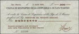 San Marino P.S102 200 Lire 1976 (3+)