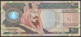 Saudi-Arabien / Saudi Arabia P.28 200 Riyals 2000 (1-)