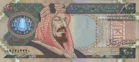 Saudi-Arabien / Saudi Arabia P.28 200 Riyals 2000 (1) Gedenkbanknote