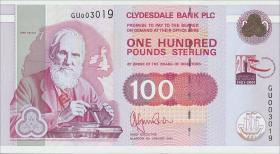 Schottland / Scotland P.229D 100 Pounds Sterling 2001 (1)