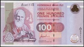 Schottland / Scotland P.223 100 Pounds Sterling 1996 (1)