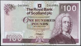 Schottland / Scotland Royal Bank P.350c 100 Pounds 1999 (1)