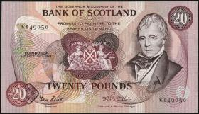 Schottland / Scotland P.114e 20 Pounds 1987 (1)