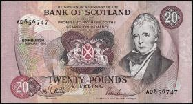 Schottland / Scotland P.118 20 Pounds 1992 (1/1-)