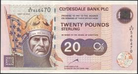 Schottland / Scotland P.228b 20 Pounds 1999 (1/1-)