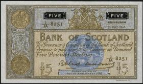 Schottland / Scotland P.101b 5 Pounds 1960 (1)