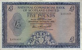 Schottland / Scotland P.272 5 Pounds 1966 (3+)
