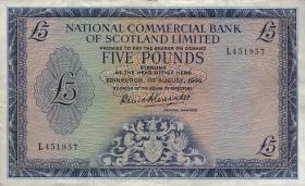 Schottland / Scotland P.272 5 Pounds 1966 (3+)