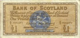 Schottland / Scotland P.102a 1 Pound 1964 LD (3)