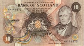 Schottland / Scotland P.113c 10 Pounds 1982 (1/1-)