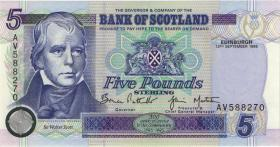 Schottland / Scotland P.119a 5 Pounds Sterling 1996 (1)