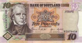"Schottland / Scotland P.120b 10 Pounds Sterling 1997 ""Jubiläum"" (2)"