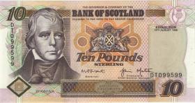 """Schottland / Scotland P.120c 10 Pounds Sterling 1998 """"Jubiläum"""" (1)"""