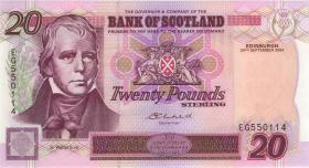 """Schottland / Scotland P.121e 20 Pounds Sterling 2004 """"Jubiläum"""" (1)"""
