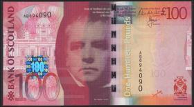 Schottland / Scotland, Bank of Scotland P.128c 100 Pounds Sterling 2011 (1)