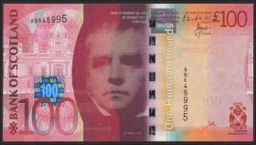 Schottland / Scotland, Bank of Scotland P.128d 100 Pounds Sterling 2014 (1)