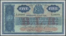 Schottland / Scotland P.161b 5 Pounds 1956 (2)