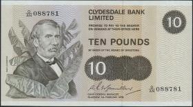 Schottland / Scotland P.207b 10 Pounds 1978 (1)
