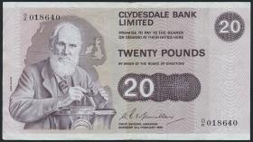 Schottland / Scotland P.208b 20 Pounds 1976 (3)