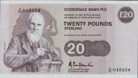 Schottland / Scotland P.215b 20 Pounds 1985 (1)